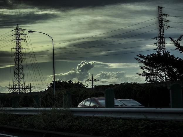 Photos: プードルが空を飛んでた(爆)
