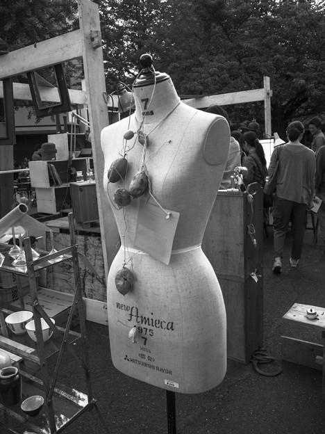 ネイチャー・ネックレス(爆)@第三回東京蚤の市;2013春