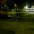 眠るバス達