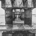 Photos: 海に突き出た廃墟、、、
