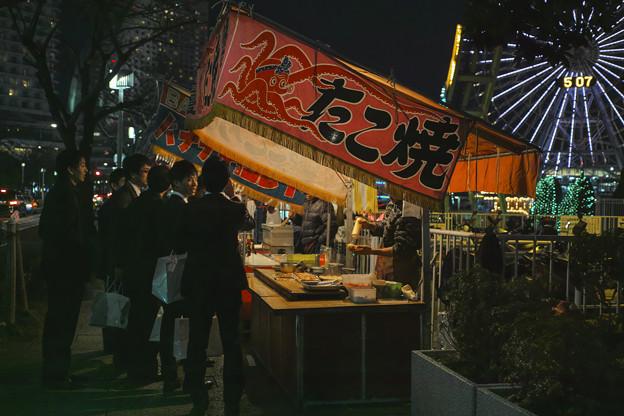 Photos: 語らいに食い物は必須(#^.^#)
