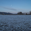 Photos: 沈み始める月
