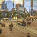 写真: 旧万世橋駅付近の路面電車