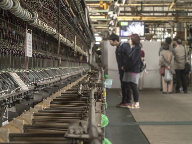 富岡製糸場の中の蛇口、、
