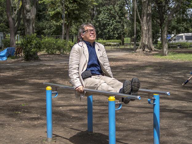 58歳、ピアノ弾き、踏ん張るバキッ!!☆/(x_x)