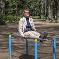 写真: 58歳、ピアノ弾き、踏ん張るバキッ!!☆/(x_x)