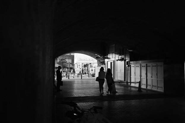 シルエット・トンネル(爆)