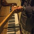 写真: 90年前のピアノを綺麗に4