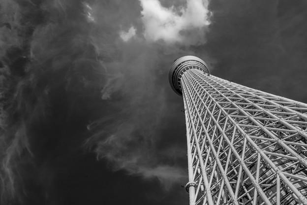 濃い雲、薄い雲