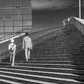 写真: 時空の階段