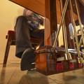 写真: 女流Pianistでは御法度の構図(爆)