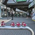 """Photos: 第97回モノコン""""毛糸に包まれた鳥さん達@江ノ電江ノ島駅"""""""