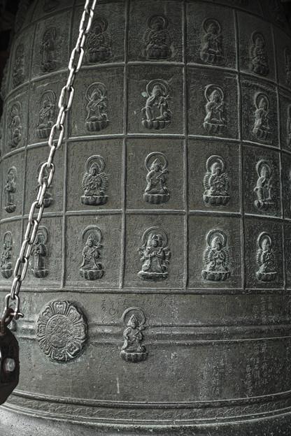 Photos: 巡礼の札所のcatalogが掘ってある梵鐘
