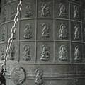 巡礼の札所のcatalogが掘ってある梵鐘