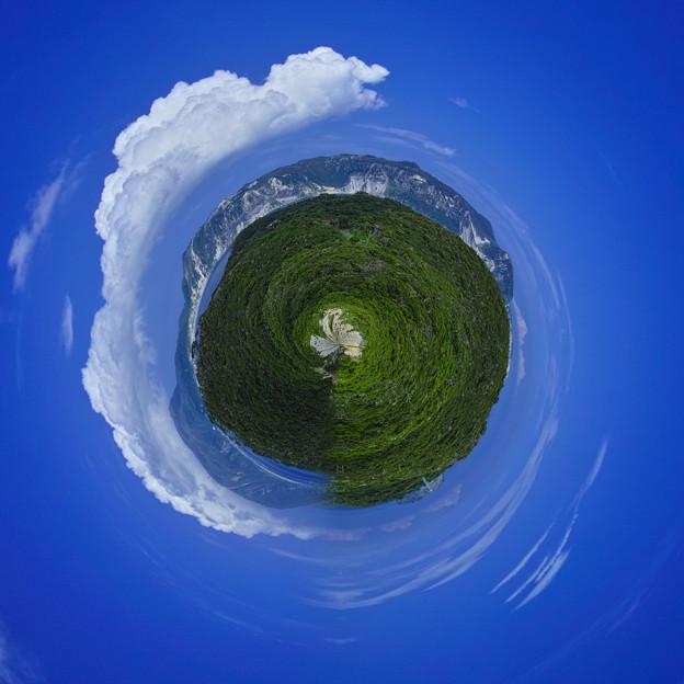 Photos: 箱庭式根島