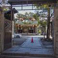Photos: 表記が間違え易い難波八阪神社(八坂は間違いだそうだ)