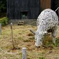 Photos: 鎧塚ファーム04「木製オブジェ」