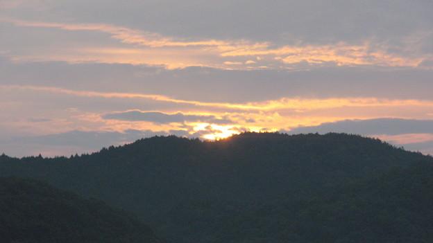 備中松山城の日の出