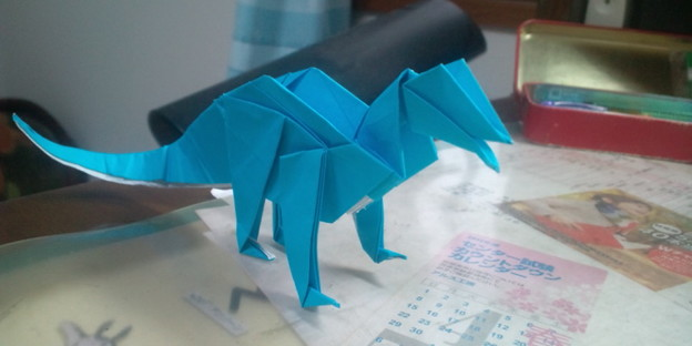 テコドントサウルスできたー... ...