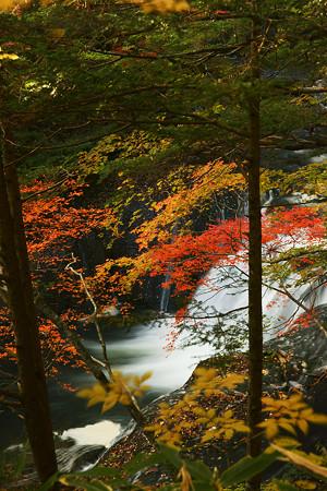 小滝の流れ