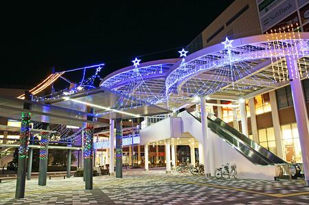 越谷駅 クリスマスイルミネーション