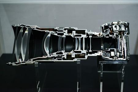 Sony 300mm F2.8G SSMII 断面図
