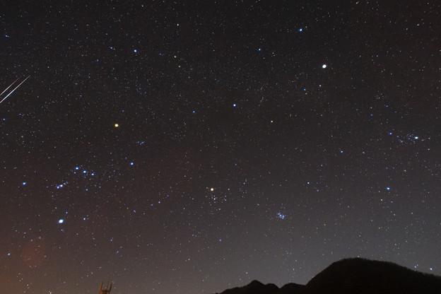 オリオン座としし座流星群