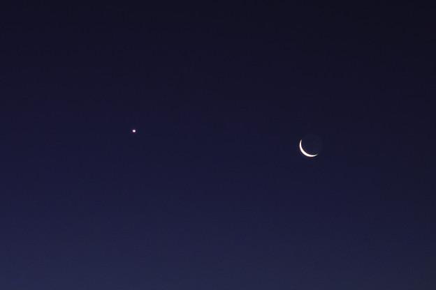 月と金星 2014/1/29
