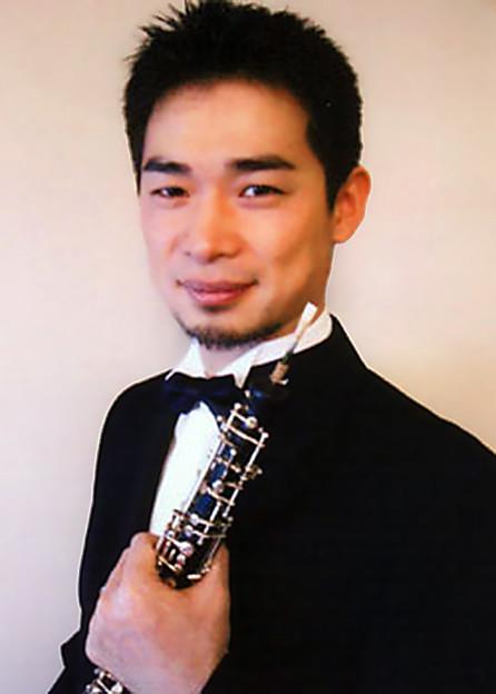 写真: 田渕哲也 たぶちてつや オーボエ奏者 Tetsuya Tabuti