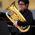写真: 沼山紘史 ぬまやまひろし ユーフォニアム奏者          Hiroshi Numayama