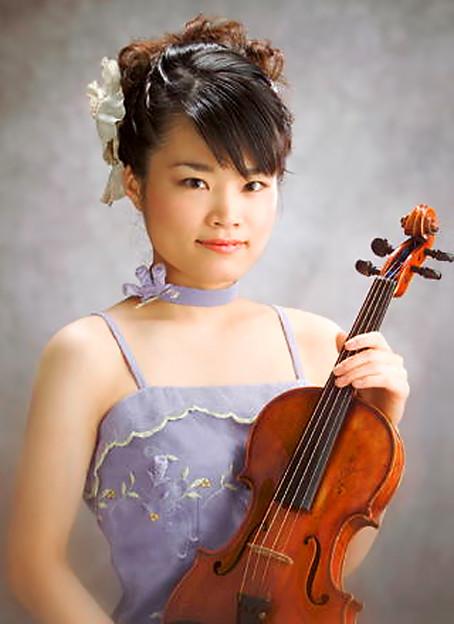 筒井志帆 つついしほ ヴァイオリン奏者 ヴァイオリニスト   Shiho Tsutsui