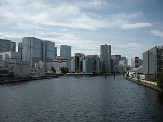 新東海橋から運河