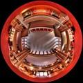 2012年8月28日 犬山市 明治村 旧帝国ホテル内部 魚眼風245度