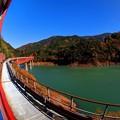 Photos: 2012年 11月20日 大井川鉄道井川線 奥大井レインボーブリッジ (1)