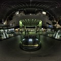 Photos: 360度パノラマ写真 京都駅中央改札口 夜景 HDR