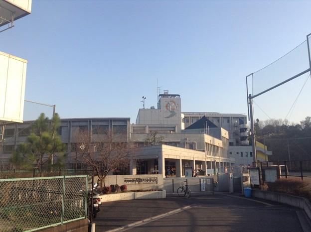 写真: 130316 鶴川中学校