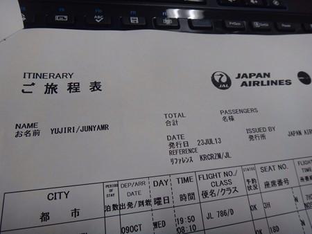 130723 ハワイ航空券