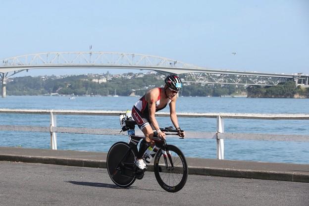 写真: IM 70.3 Auckland Bike02