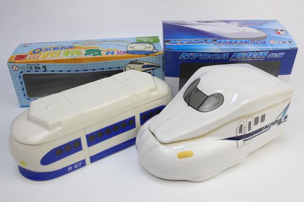 0系・N700A 新幹線 駅弁 弁当箱