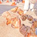 写真: おかやまご当地グルメフェスタin備前     親鶏の焼き鳥-15