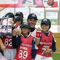 ヤクルト野球教室 閉校式&記念撮影