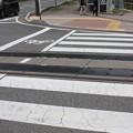 Photos: 道路に廃線跡の線路 04