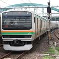Photos: E231系1000番台U508編成 632M 普通 上野