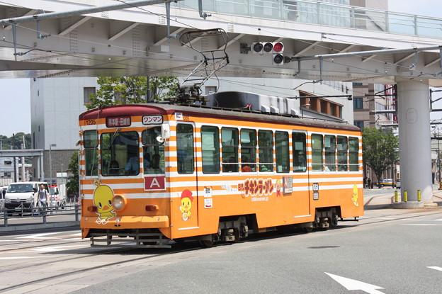 熊本市交通局1200形1205