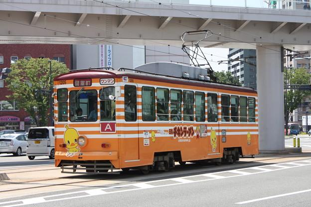熊本市交通局1200形1205 (1)