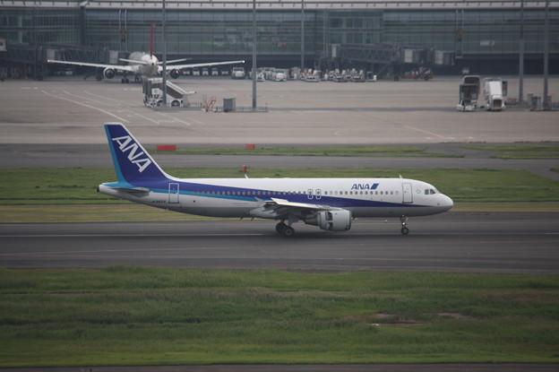 ANA エアバスA320-200 JA8654 (1)