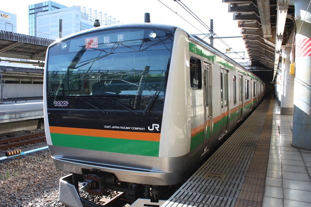 高崎線 E233系3000番台D14編成 3923M 快速アーバン 籠原