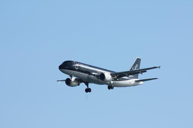 スターフライヤー エアバスA320 JA07MC