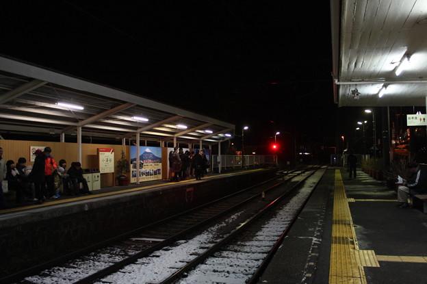小涌谷駅 構内