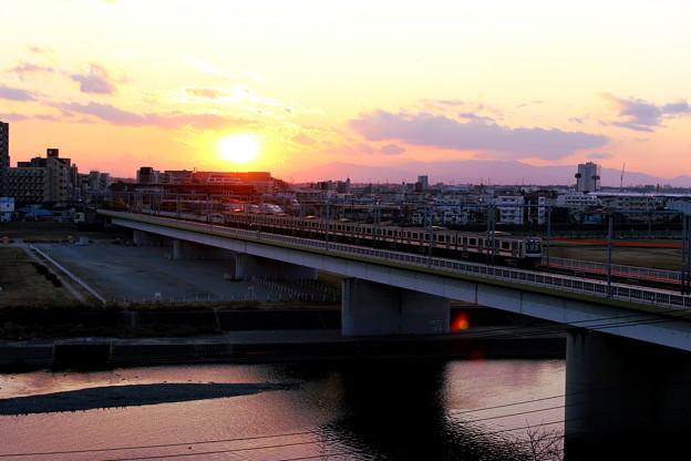 東急東横線・多摩川橋梁